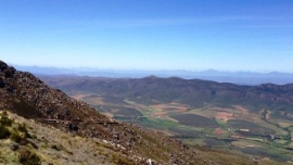 Swartberg Pass southern view from the summit