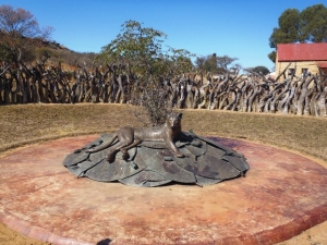 Zulu memorial at Rorke's Drift