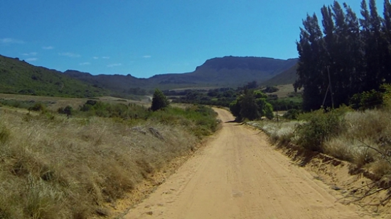 Kapteinskloof near the southern start