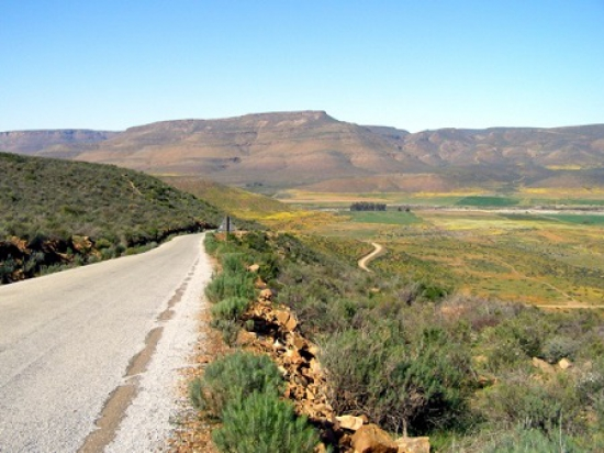 Hoek se Berg with steep gradients