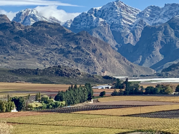 Hex River Valley in winter clothing