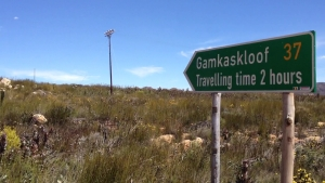Start point Gamkaskloof
