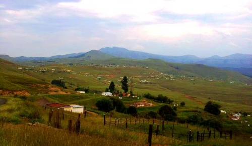Green hills of KZN