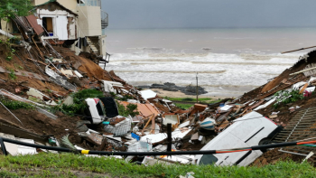 Landslides caused by heavy rain caused massive damage in KZN