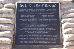 The Long Tom Cannon plaque