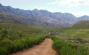 Remote gravel roads in the Swartberg