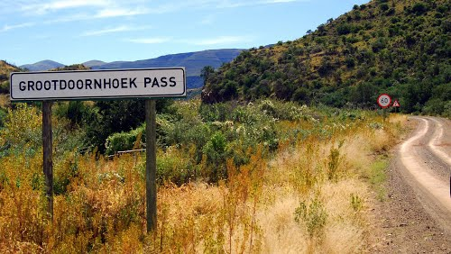 An off the beaten track Karoo pass