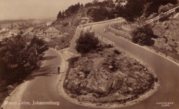 An old postcard of Munro Drive