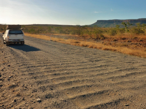 Corrugations - a fact of life on gravel roads