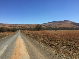 Another good quality gravel road in KZN